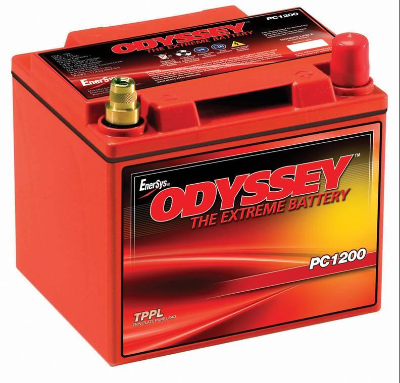 Odyssey PC1200 12 Volt 40Ah Dry Cell AGM Battery